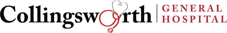 The Collingsworth General Hospital logo